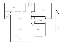 央企品质 精装两房 位置安静 朝南中层 房东换房急售