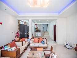 富豪花园5居满二使用面积380平 联排双拼三面采光