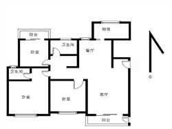 观海澜庭3居