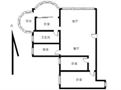 厦禾路二市BRT旁 永成大厦 封闭式花园小区 电梯精装三房