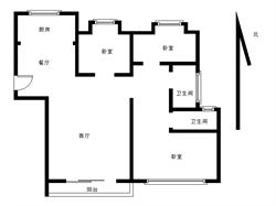 联发杏林湾1号 标准三房 满两年
