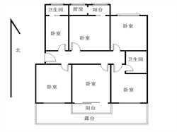 江头 新景华府国际 三房两厅 带大露台 南北通透双阳台