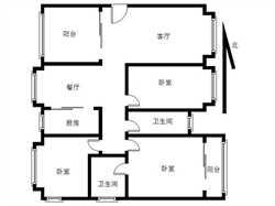 华林花园三期 10楼 赠送露台 拎包入住 不靠马路 诚意出售