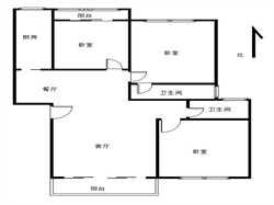 读人民小学 金枫园 精装3房产权满2年 看房方便 火车站旁