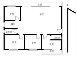 银龙公寓3居满二