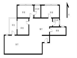 玉滨城一期 高层 全明格局大三房 读园南 一中双十