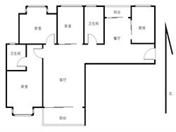 央企品质 精装大三房 南北通透 光线明亮看房方便