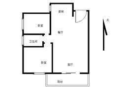 中骏两居实验旁朝南户型精装修满两年急售单价2.5万