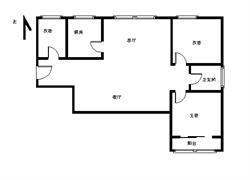 锦绣毛坯2+1,送入户花园,独栋前后无遮挡,均可以看中庭!
