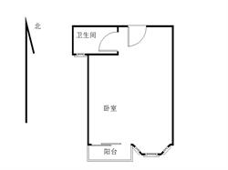 黎安小镇一期高层精装单身公寓