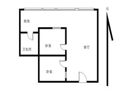 锦辉国际花园2居电梯