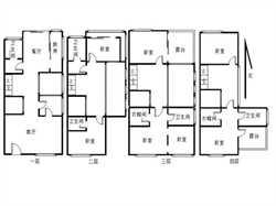 五缘湾 特房-联排别墅共5层送车位送花园 市政BRT