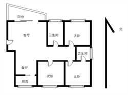 嘉盛豪园3居电梯,户型方正,南北通透,诚意出售。