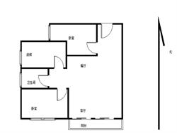 08年小区 二房双阳台 送书房 精装厨卫全明 思明瑞景BRT