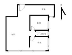 恒亿蓝波湾 精装二房二厅一厨一卫 高层看海无遮挡