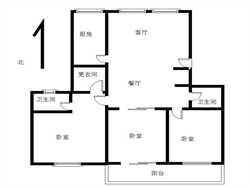 高层国贸阳光 小区中庭 3居电梯采光无遮挡 居家舒适