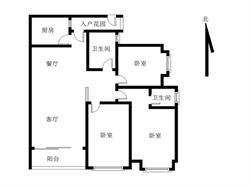 会展 联发滨海名居 高层 3房 保养好 看房方便