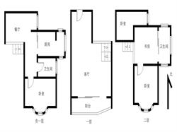 金枫园三期豪华装修4居电梯满五年唯一
