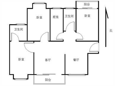 中骏蓝湾香郡精装3房拎包入住高楼层南北通透