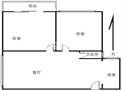 荣昌·东方广场2居满五