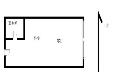 瑞景外国语 电梯高层 单身公寓 首付60万 精装修拎包入住