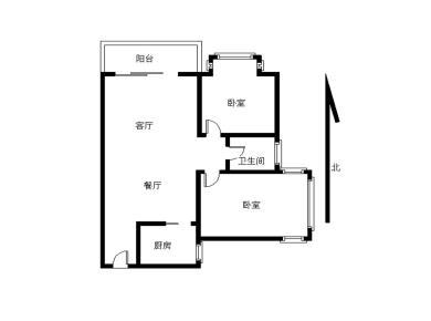 莲坂 湖明路 国际文化大厦2房 06年小区 2梯6户电梯