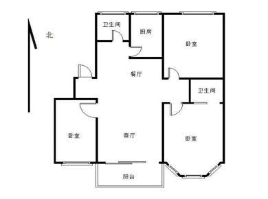嘉裕花园(江浦南里)3居满二满五