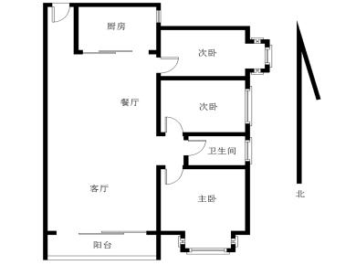 中骏蓝湾尚都 满五年 全面朝南 精装小三房 高楼层 马巷商圈