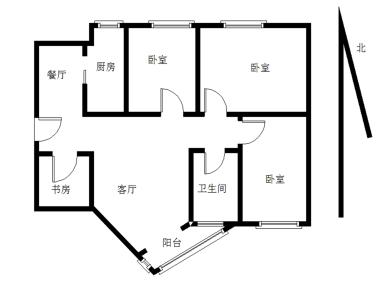 天湖苑 4室2厅