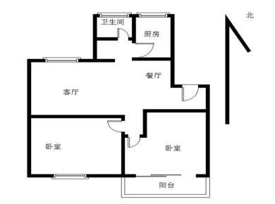 瑞景新村 2房2厅 看中庭位置 中层居家装修 学位没有占用
