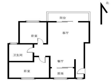 双十旁 维多利亚通透两房出售 满两年 业主换房