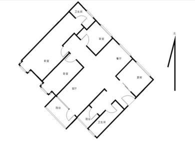 万科城4期精装大3房 高楼层 可看海南北通透 满2总价340