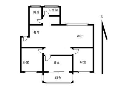 瑞景商圈  瑞景新村 三房朝南 精装修 满2年看房方便
