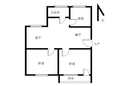 博士花园两房两厅享有祥店生活圈,实验二小斜对面。