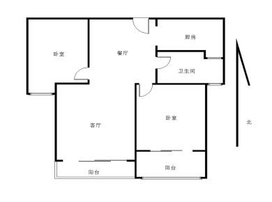 大学康城一期 自住精装两房 高楼层采光好 位置安静 诚意出售