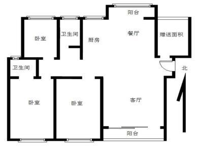 领秀御园3居电梯