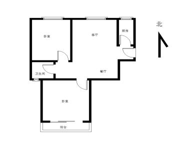 美地雅登二里,精装大两房,安静宜居,有电梯