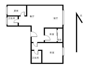 文灶站 银龙广场一期 居家两房 封闭小区 满五年