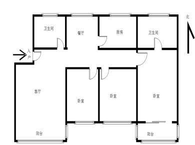 厦大南华路 安静优美 安静舒适 一中双十房子 全明通透