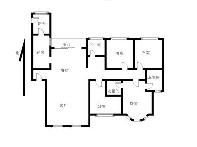 建发中央湾区二期  大四房 二次百万现代风格装修  拎包入住