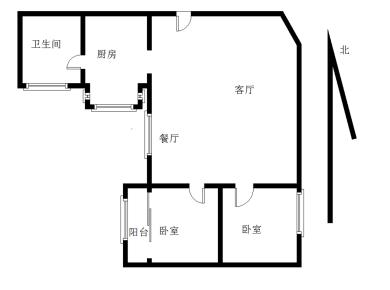 西子公寓(一二期)2居
