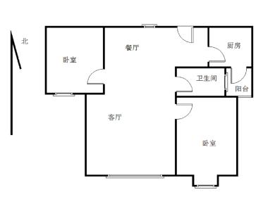 黎安精装两房,高层视野,业主自住装。