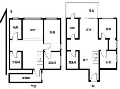 鑫塔水尚 高层自住 客厅带阳台朝北 统一精装 方正五房