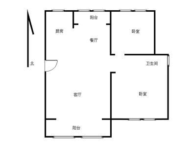 莲花尚城,毛坯两房,可改三房,完美符合刚需要求