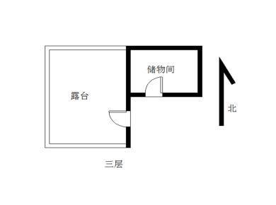 东方明珠广场 标准楼中楼 产权证已经满5年 送100平露台