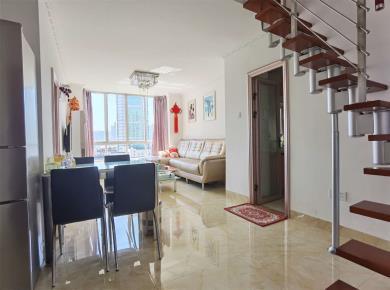 东方明珠广场2房2厅2阳 可以随意改成3房加1书房 松柏中学