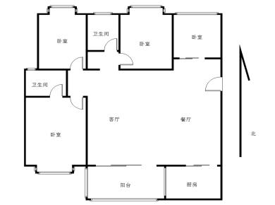 杏东路 金博水岸 看海格局好精装大4房 128平420万出售