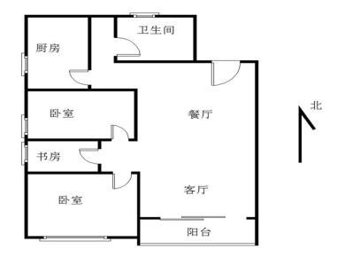 【聚镇】新出精装小三房 高楼层 视野开阔 采光良好 产权满二