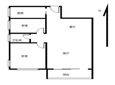 幸福生活 两房 电梯超高层 客厅带阳台朝南