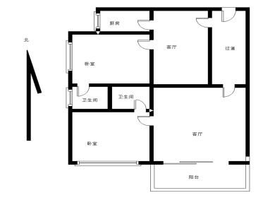 07年交房小区 金永昌家园电梯高层2房 南北 满5年诚意出售
